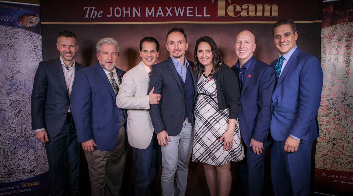 alin potocean and john c maxwell team